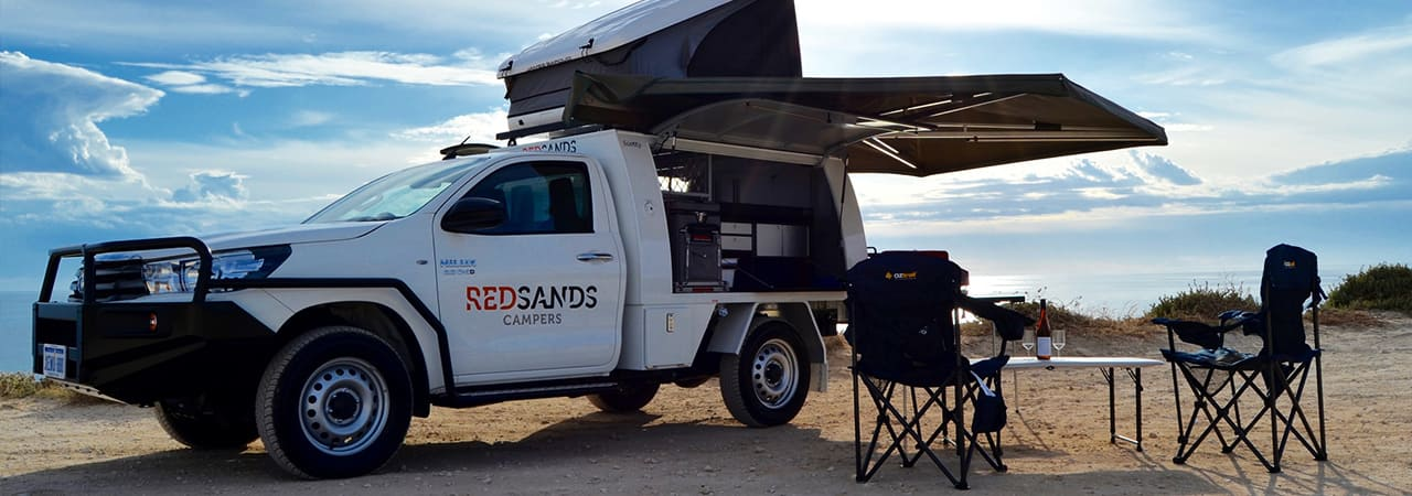 Red Sands Campers2 Person 4WD CamperAustralien