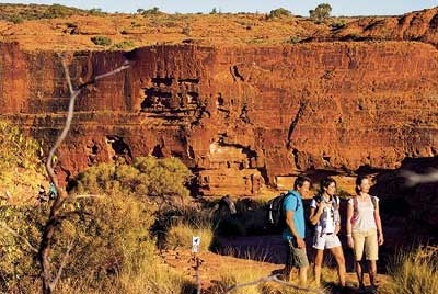 Kings Canyon & Uluru Explorer 3 Tage ab Alice Springs bis Ayers Rock