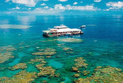 Outer Barrier Reef Magic Cruise