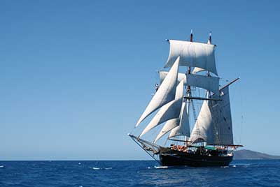 Solway Lass Tall Ship Adventures 4 Tage ab Airlie Beach