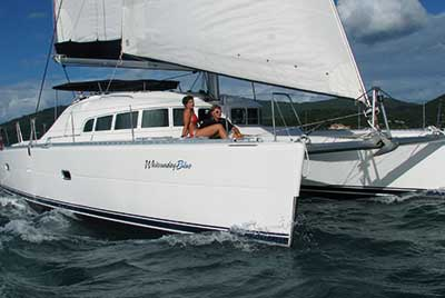 Deluxe Sailing Whitsunday  Blue 3 Tage ab Airlie Beach